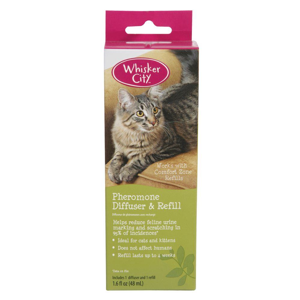 Whisker City Pheromone Diffuser And Refill
