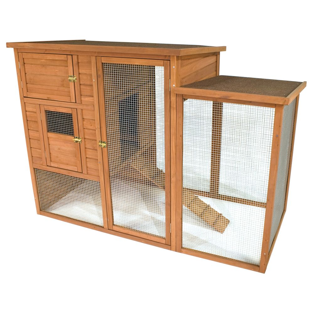 Ware Premium Chick N Villa Chicken Coop Brown