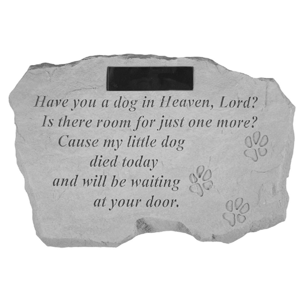 Kay Berry A Dog In Heaven Personalized Pet Headstone