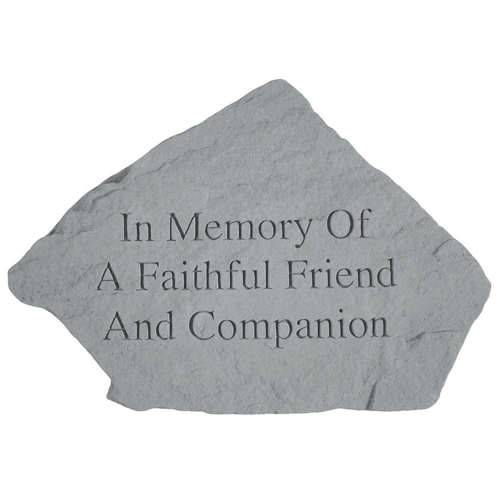 Kay Berry Faithful Friend Memorial Stone