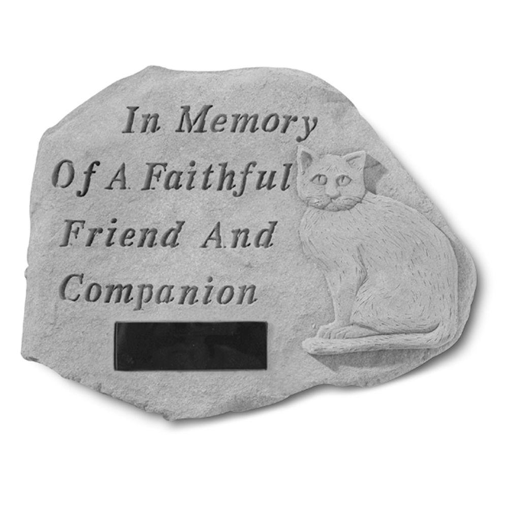 Kay Berry In Memory Personalized Cat Memorial Stone
