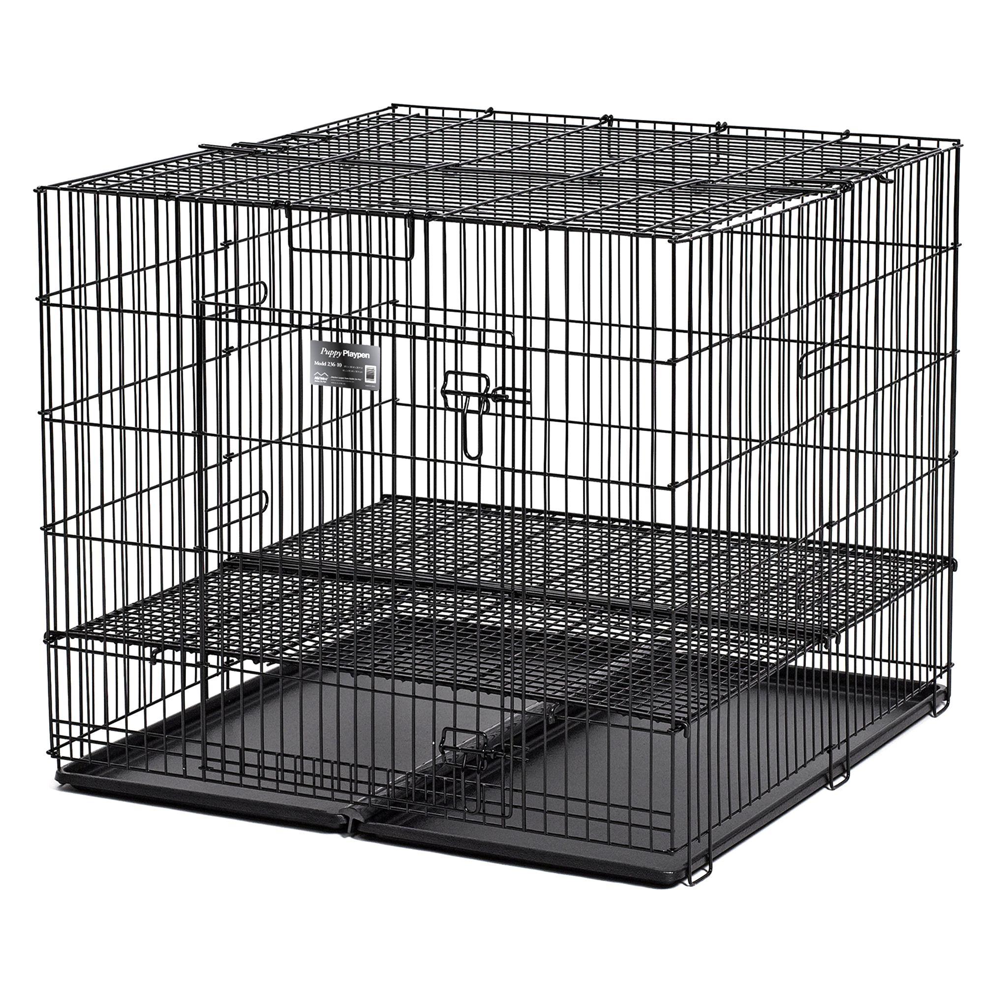 Midwest Puppy Playpen 1/2 Floor Grid Size 36l X 36w X 30h