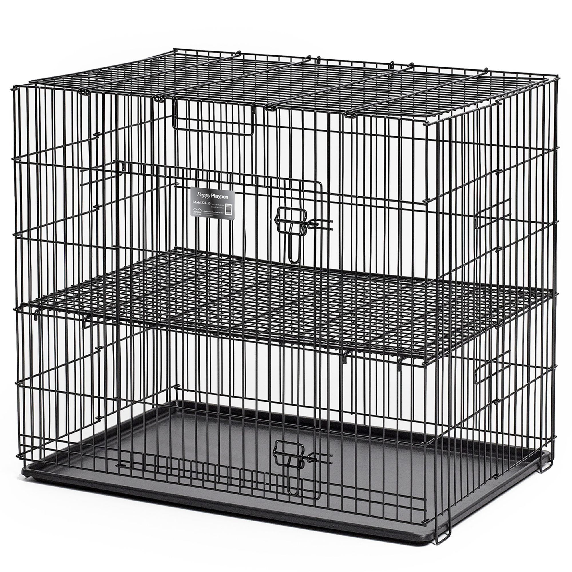 Midwest Puppy Playpen 1/2 Floor Grid Size 24l X 36w X 30h