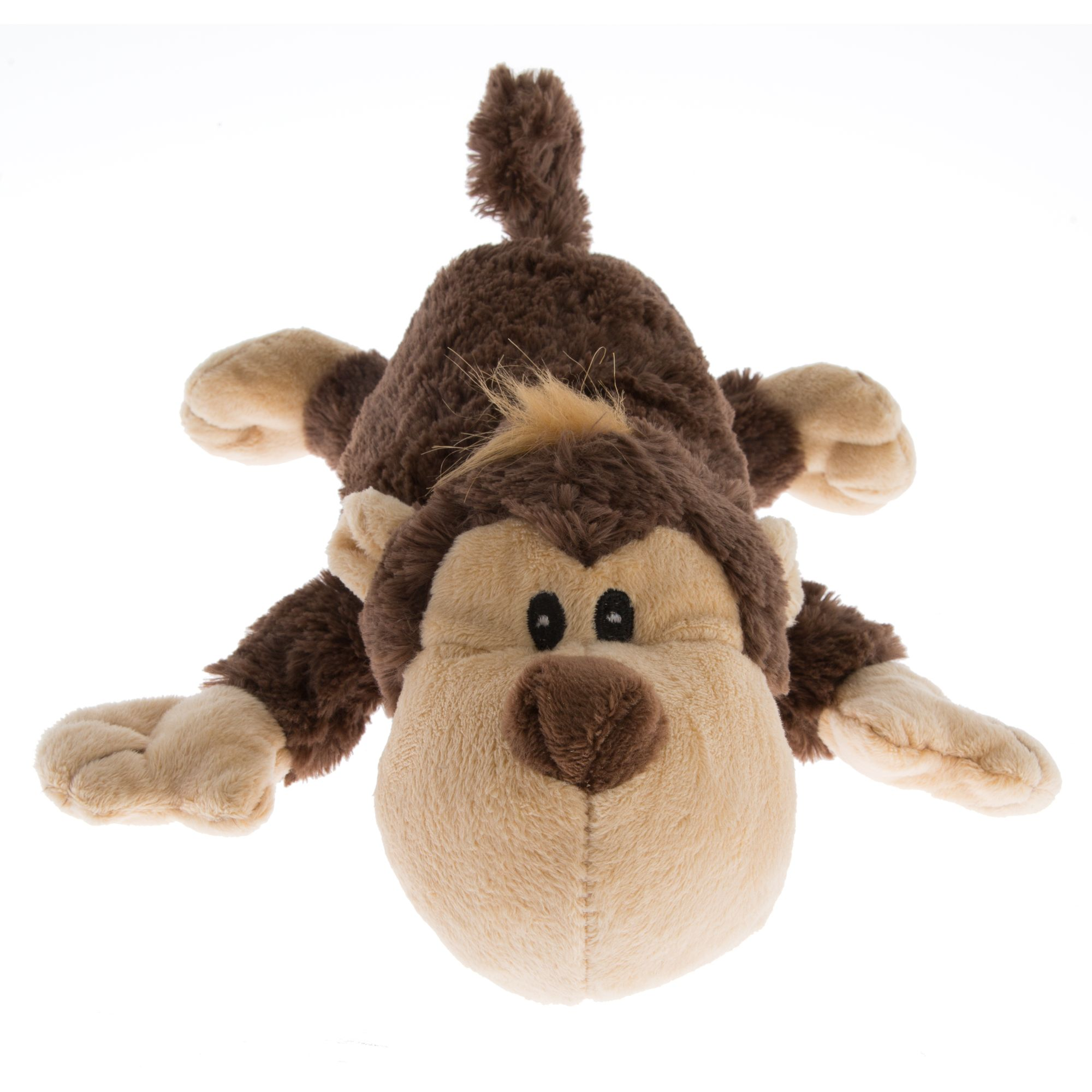 Kong Cozie Spunky Monkey Dog Toy 5171159