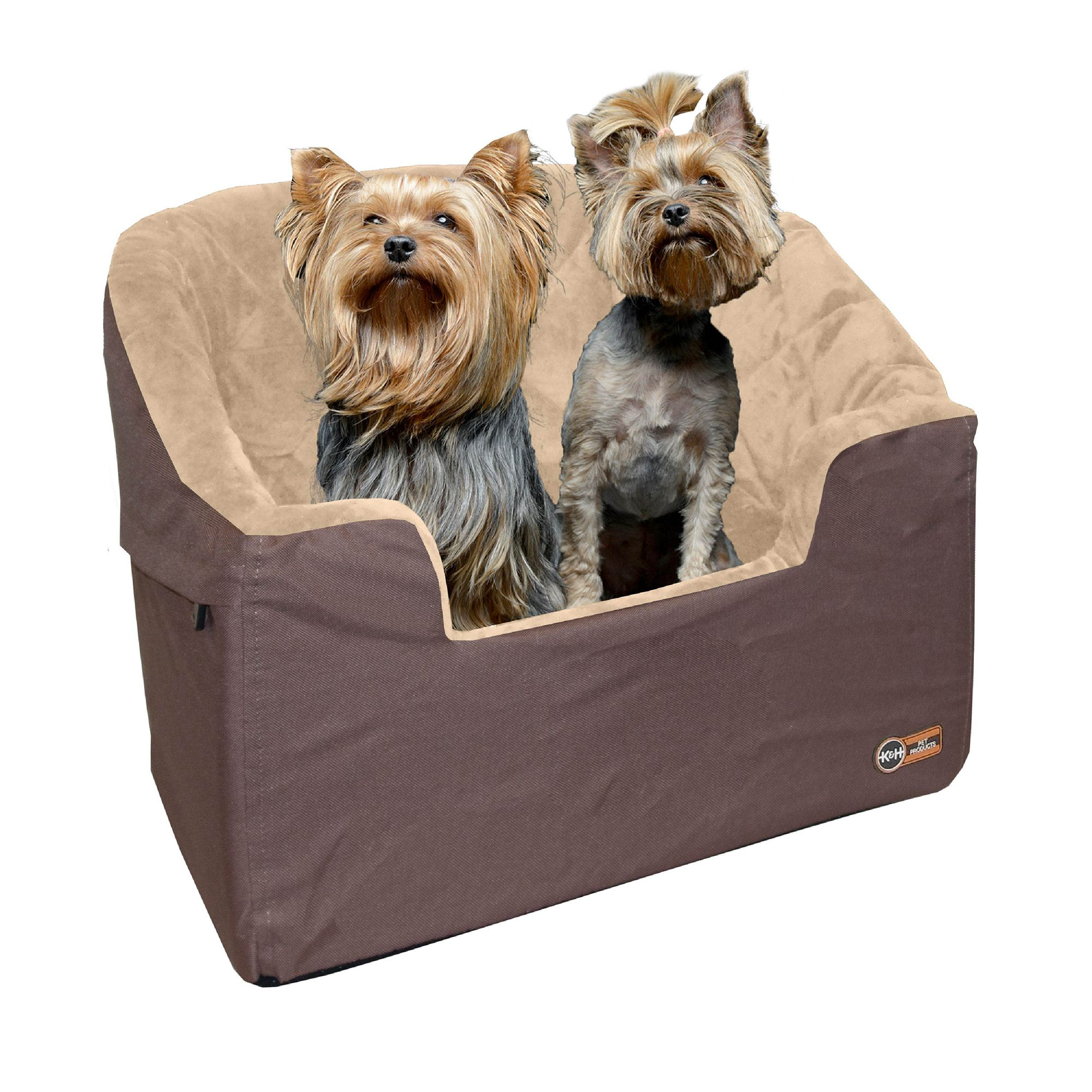 KandH Bucket Booster Pet Seat size: Large, Tan