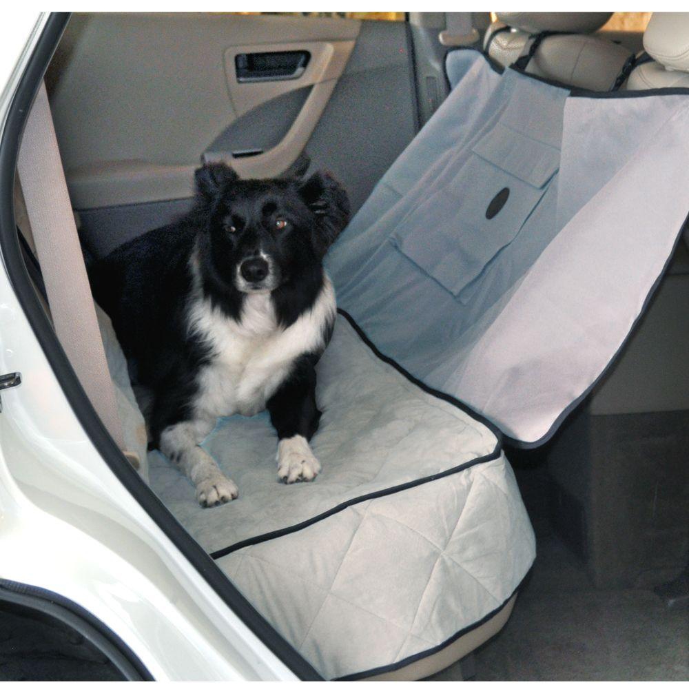 KandH Deluxe Car Seat Saver, Gray