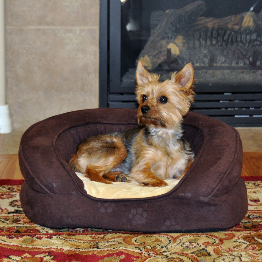 """KandH Deluxe Ortho Bolster Sleeper Pet Bed size: 50""""L x 40""""W"""