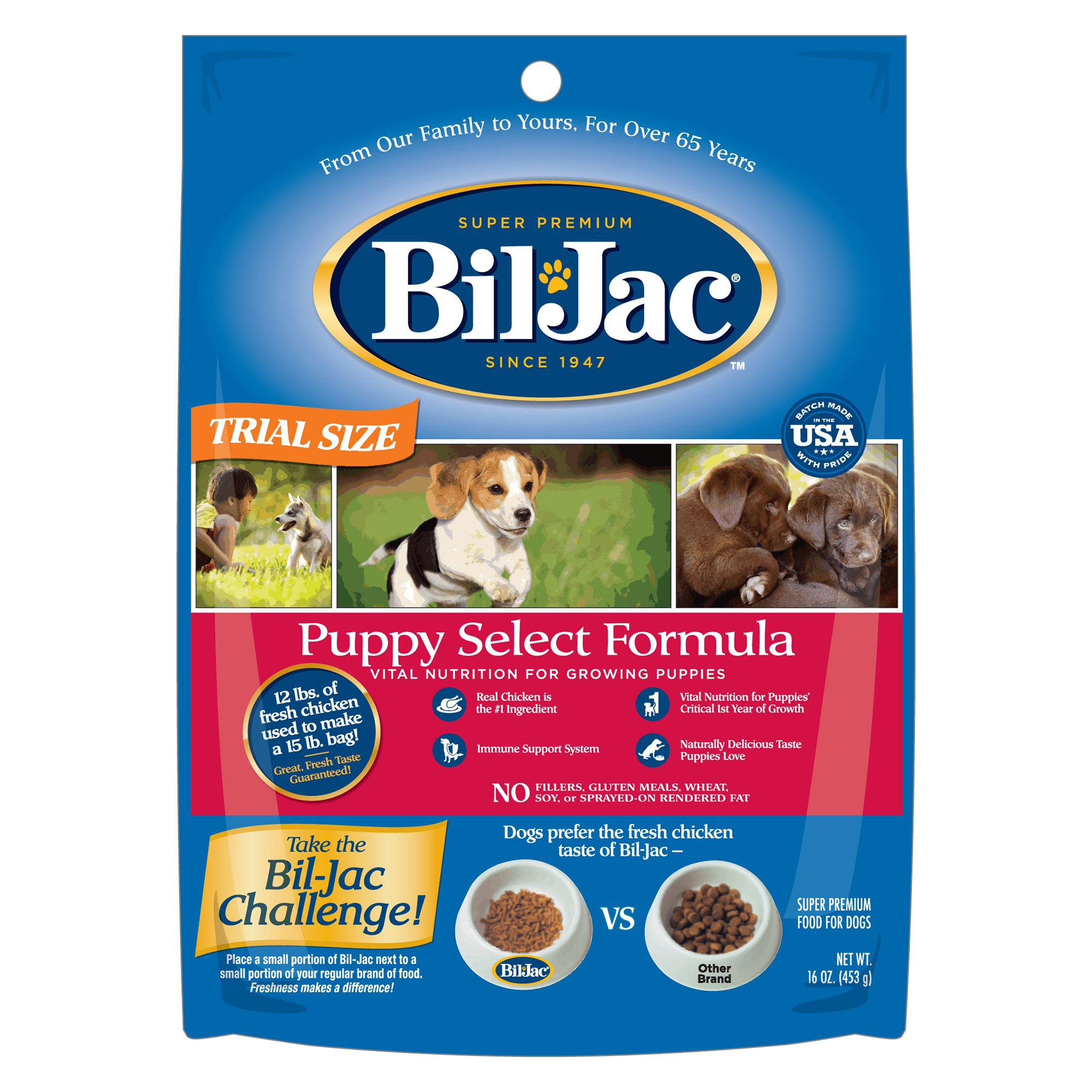 Bil-Jac® Puppy Select Formula Puppy Food size: 16 Oz 5173157