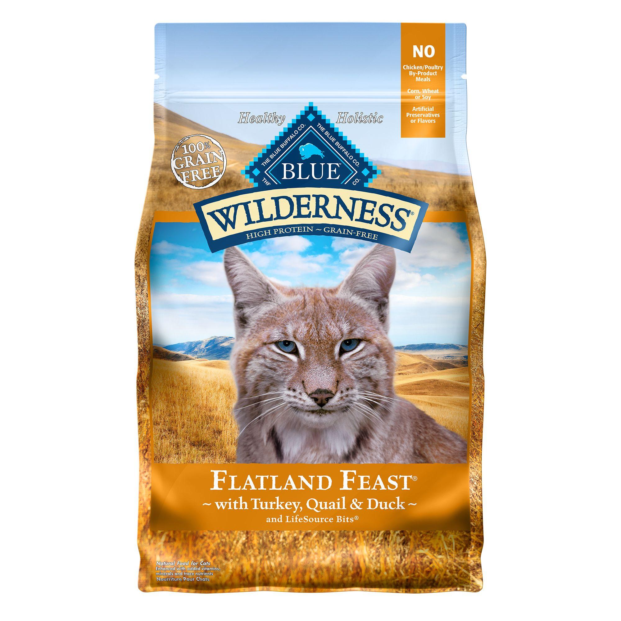 Blue Wilderness Grain Free Chicken Mature Adult Cat Food Size 2 Lb Blue Buffalo