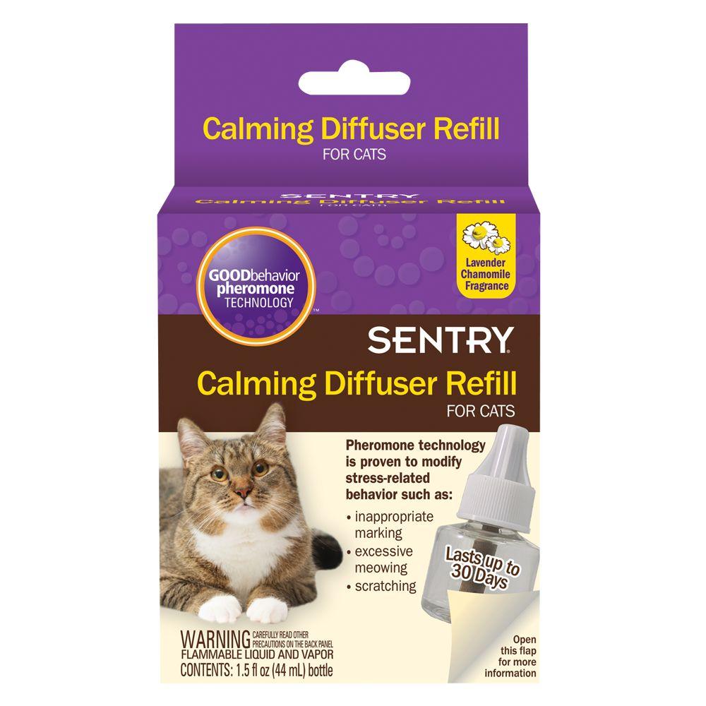 Sentry Good Behavior Lavender Chamomile Cat Calming Diffuser Refill