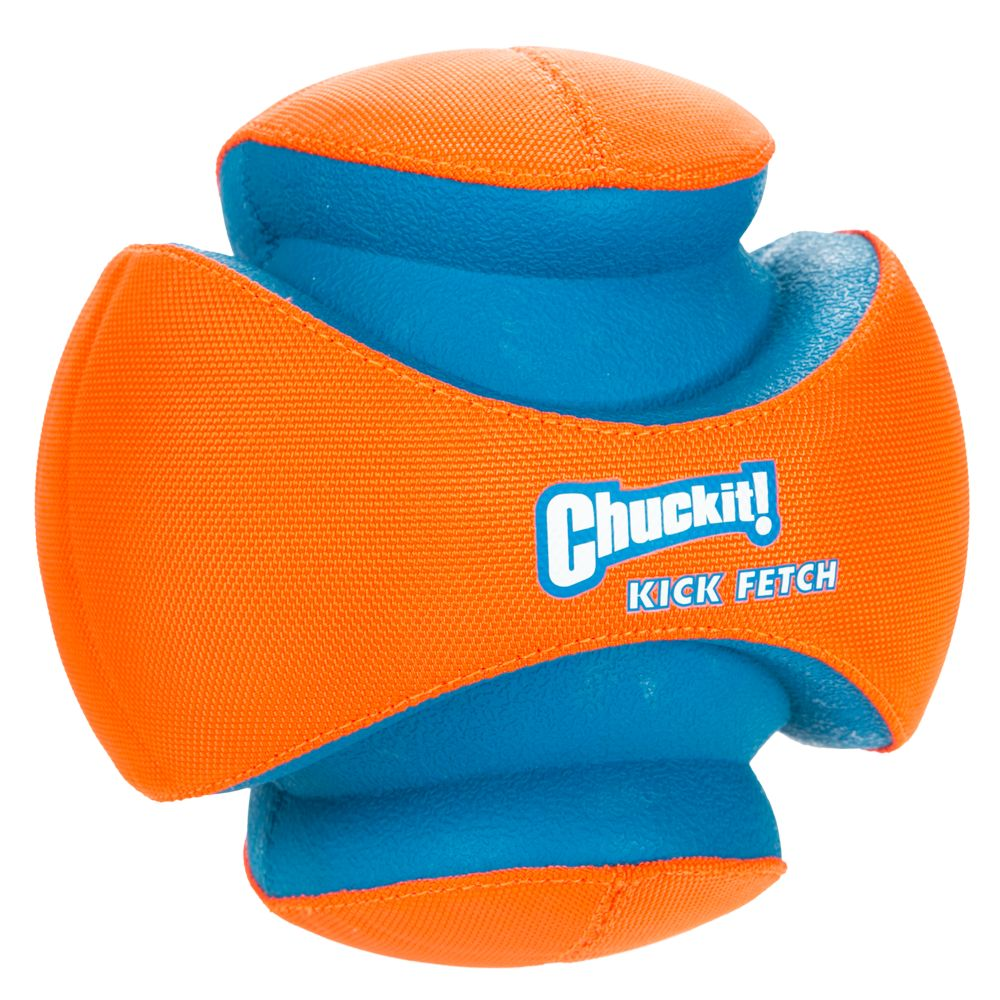 Chuckit! Kick Fetch Dog Toy size: Large, Red & Blue