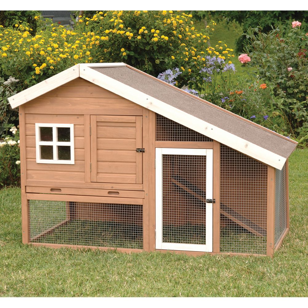 Precision Pet Cape Cod Chicken Coop Brown