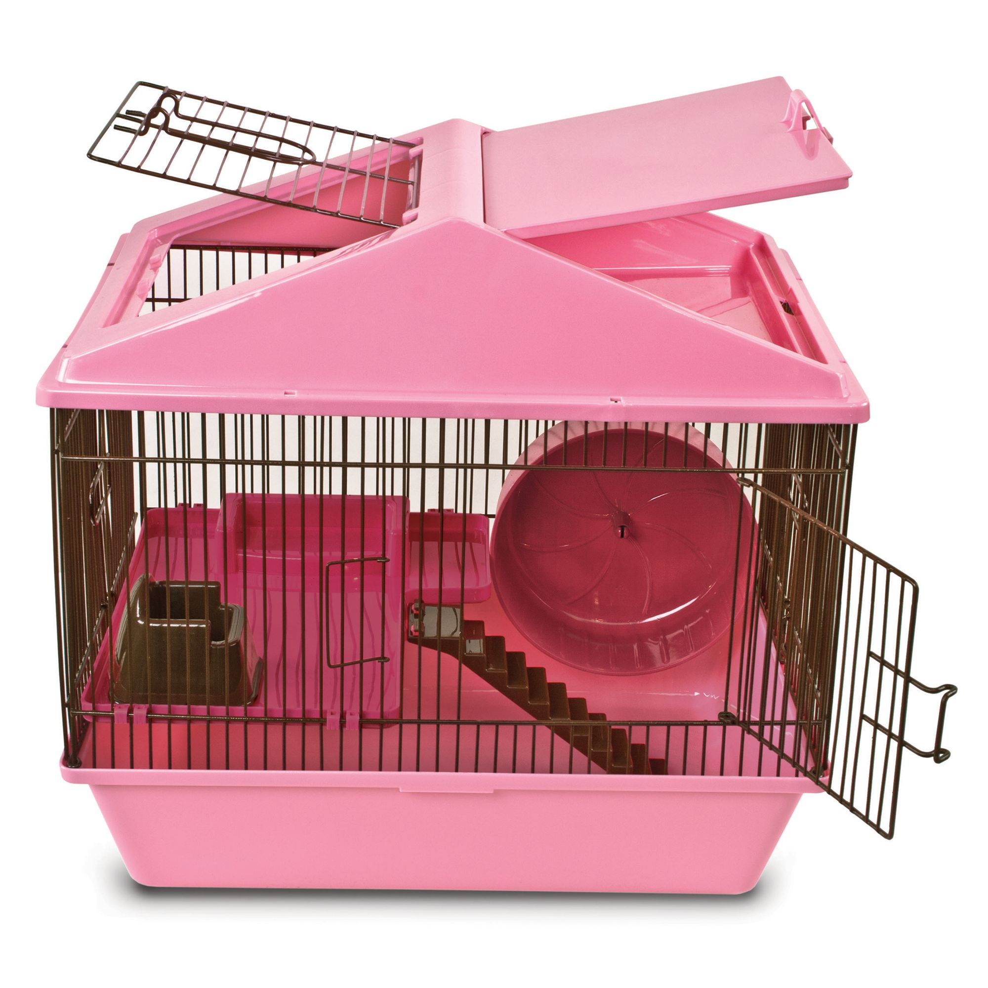 Critter Ware Animal House 2 Level Hamster Cage