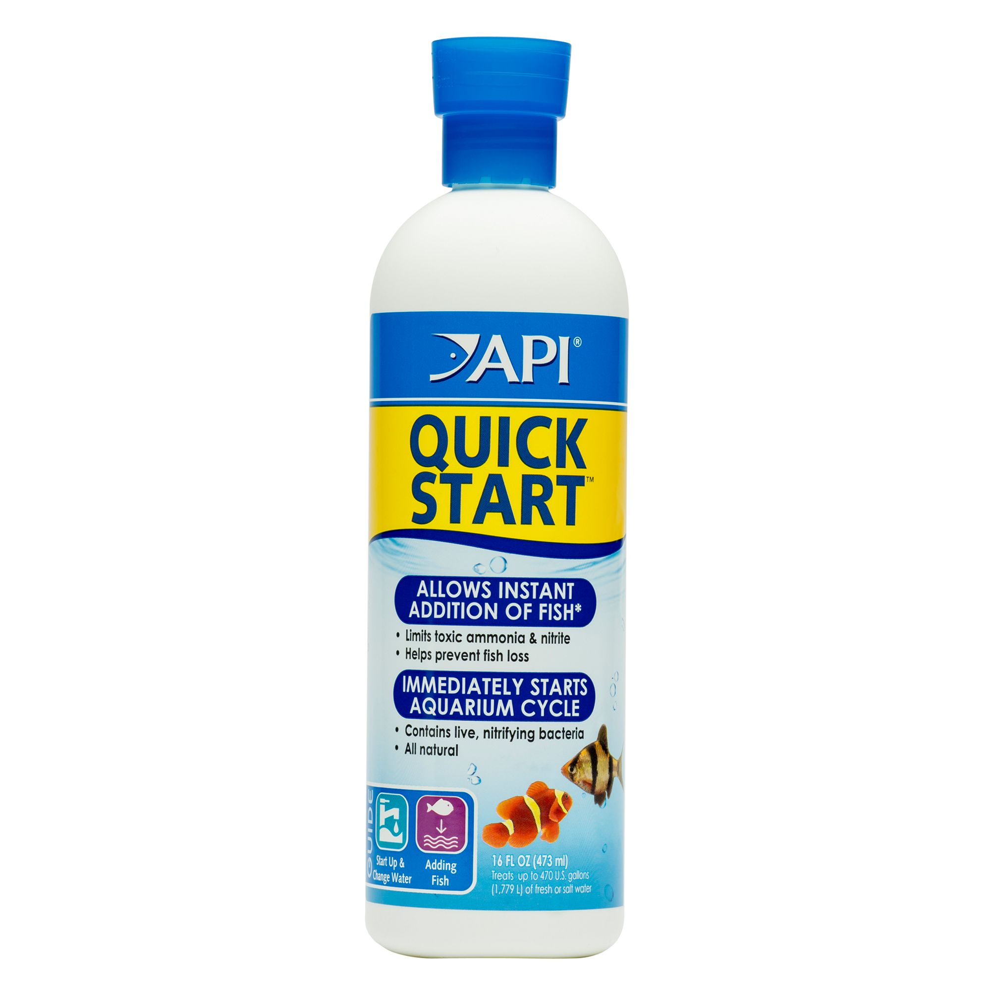 Api Quick Start Aquarium Cycling Water Conditioner size: 16 Fl Oz