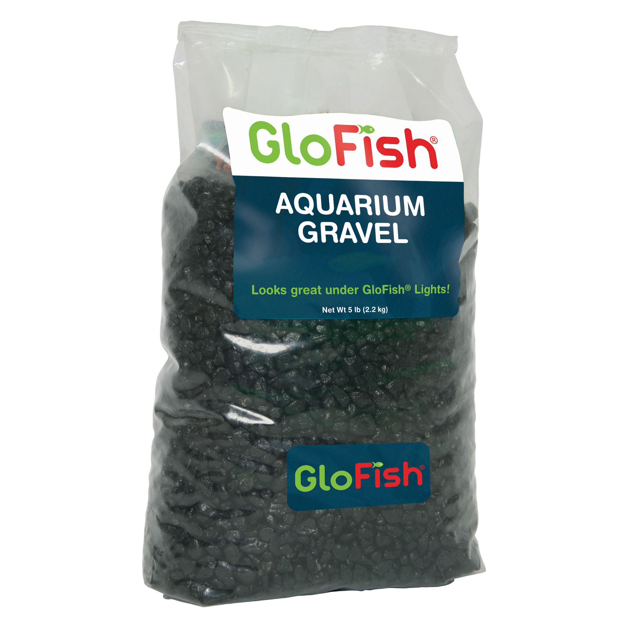 Glofish Aquarium Gravel Size 5 Lb Black