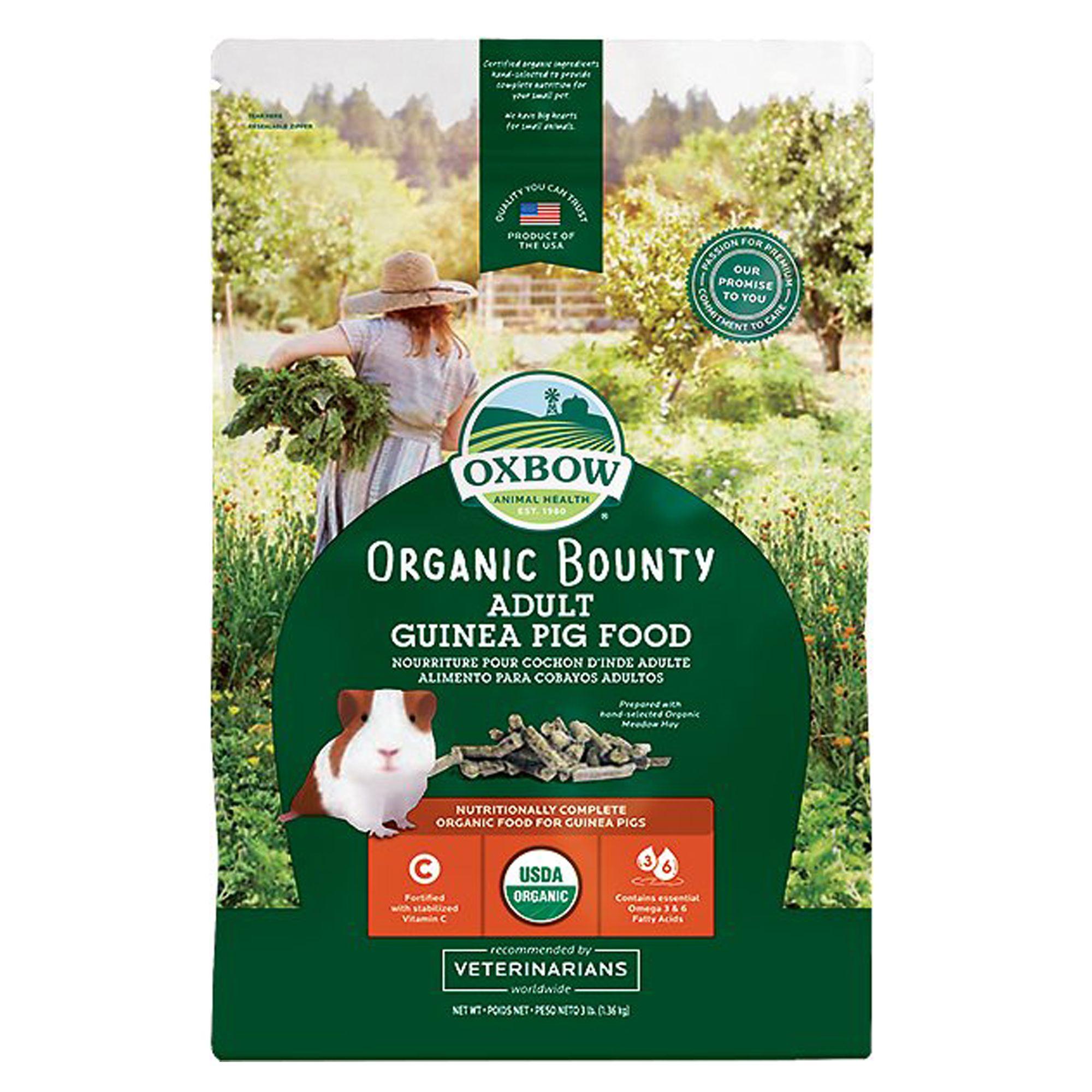 Oxbow Bene Terra Organic Guinea Pig Food Size 3 Lb
