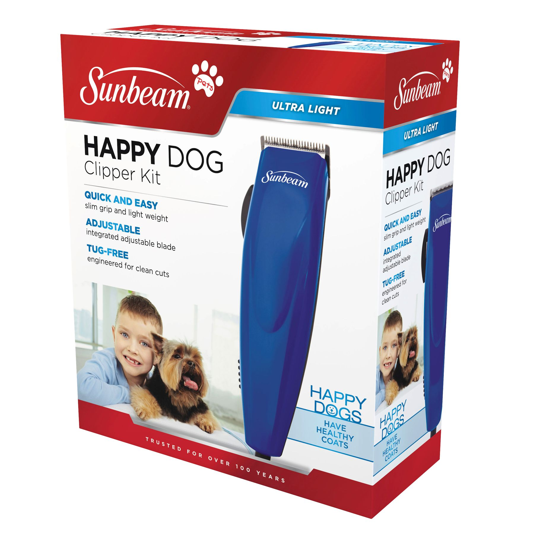 Sunbeam Happy Dog Clipper Kit Blue