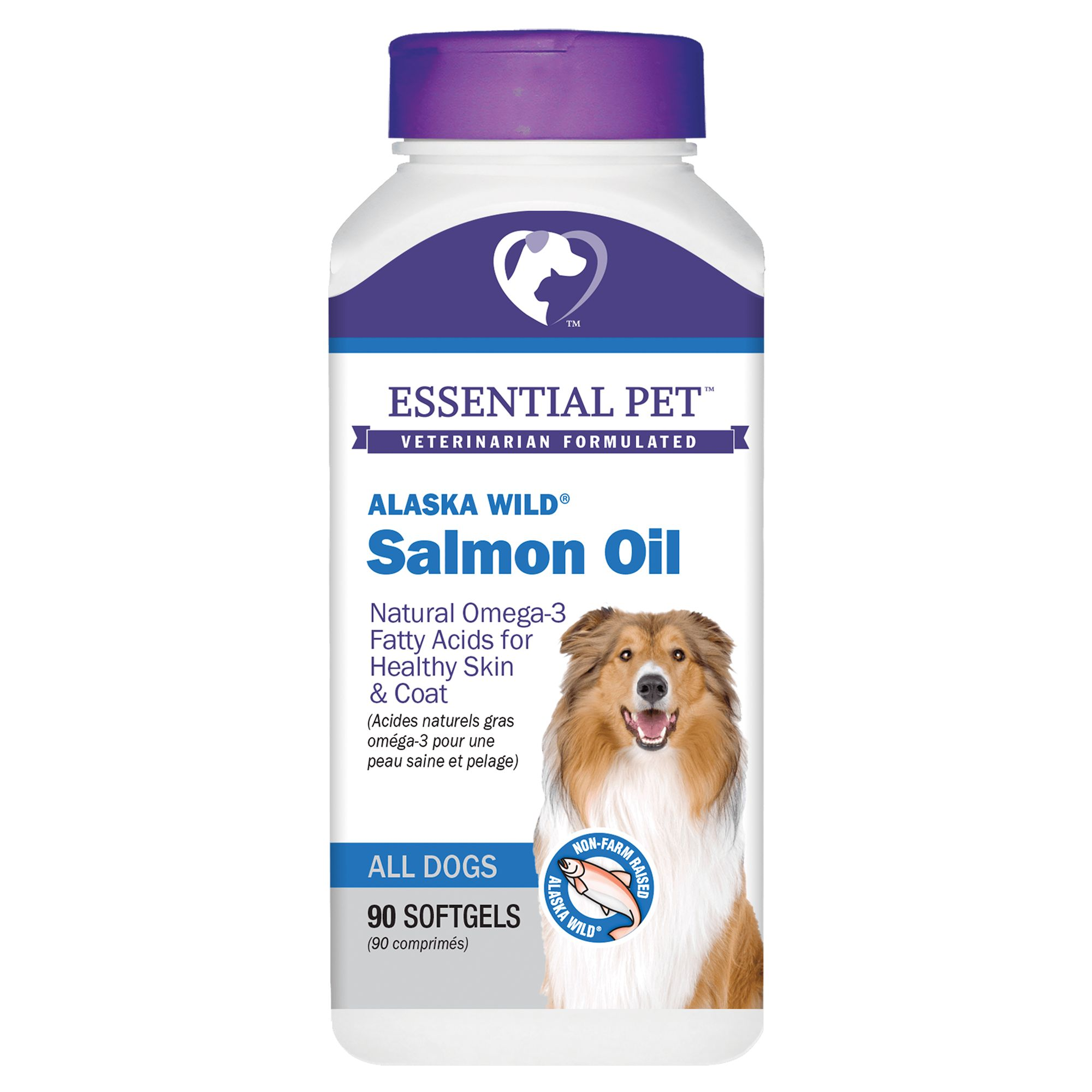 21st Century Alaska Wild Salmon Oil Dog Softgel Size 90 Count