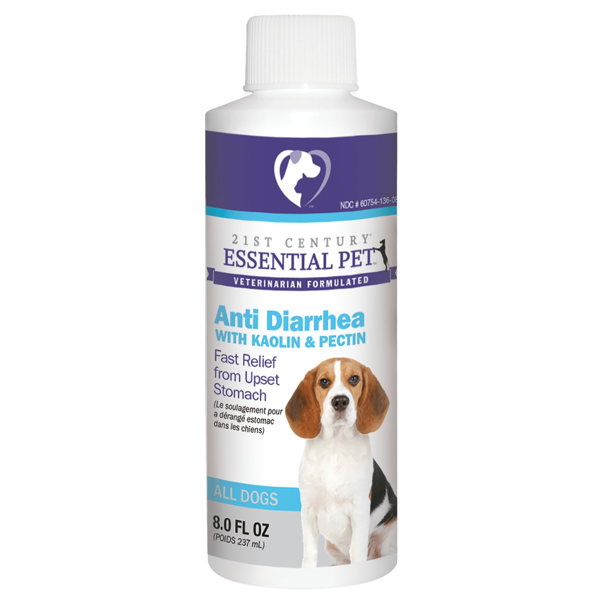 21st Century Anti Diarrhea Dog Liquid Size 8 Fl Oz