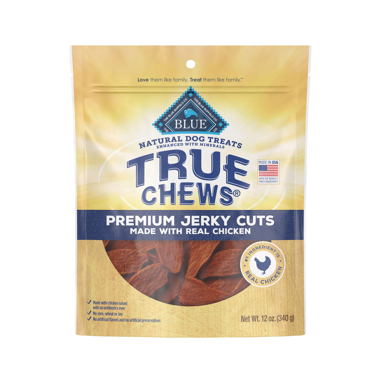 True Chews Premium Jerky Cuts Dog Treat Natural Chicken Size 12 Oz