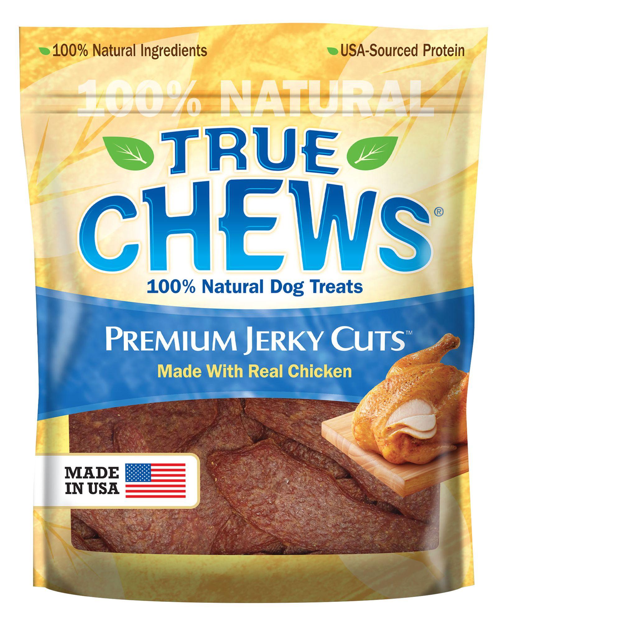 True Chews Premium Jerky Cuts Dog Treat Natural Chicken Size 4 Oz