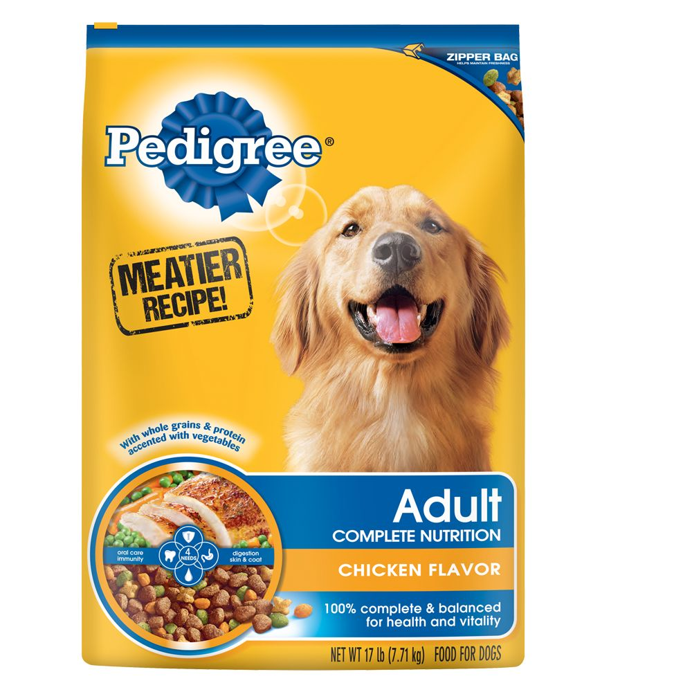 pedigreea complete nutrition dog food