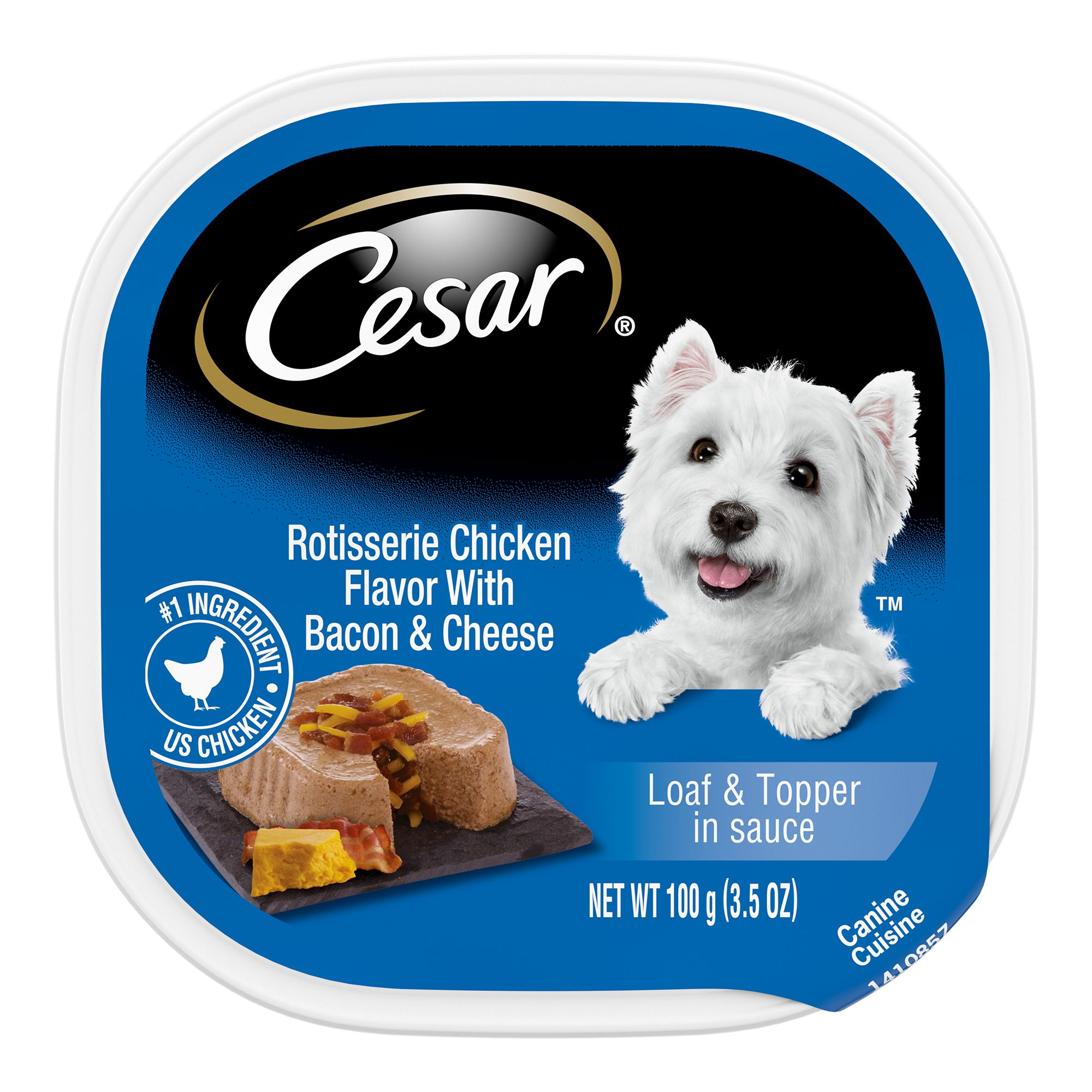 Cesar® Savory Delights, Adult Dog Food size: 3.5 Oz 5176954