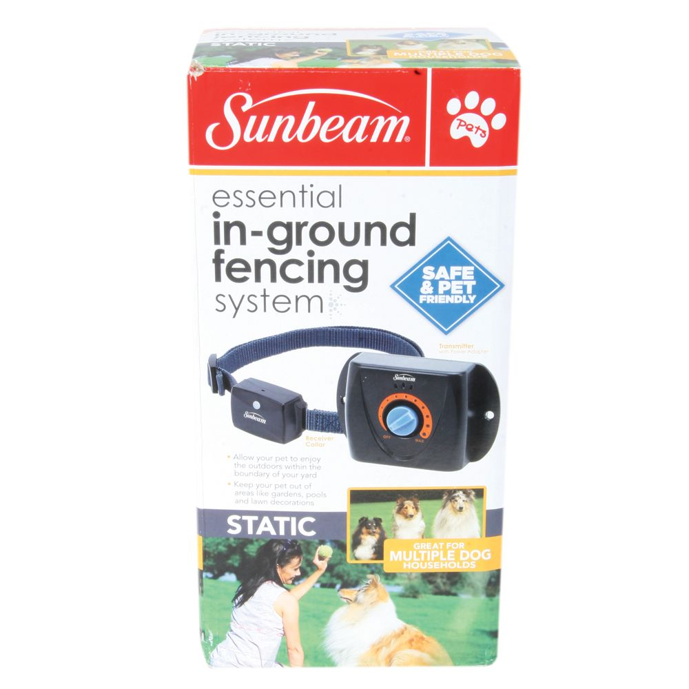 Sunbeam Essential In Ground Static Dog Fencing System Size 1 Count