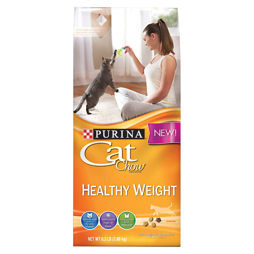 Purina Cat Chow Healthy Weight Adult Cat Food Size 6.3 Lb