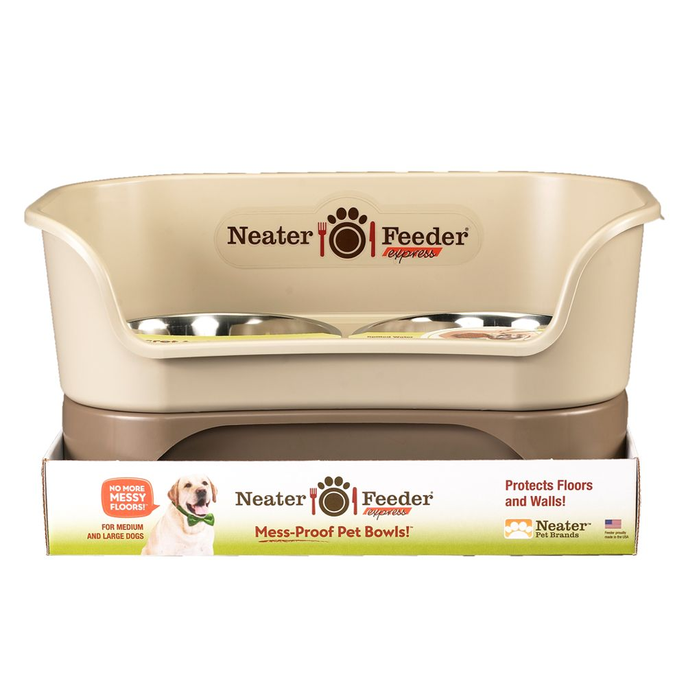 "Neater Feeder Express Elevated Pet Bowl size: 19.5""L x 12.75""W x 10""H 5180479"