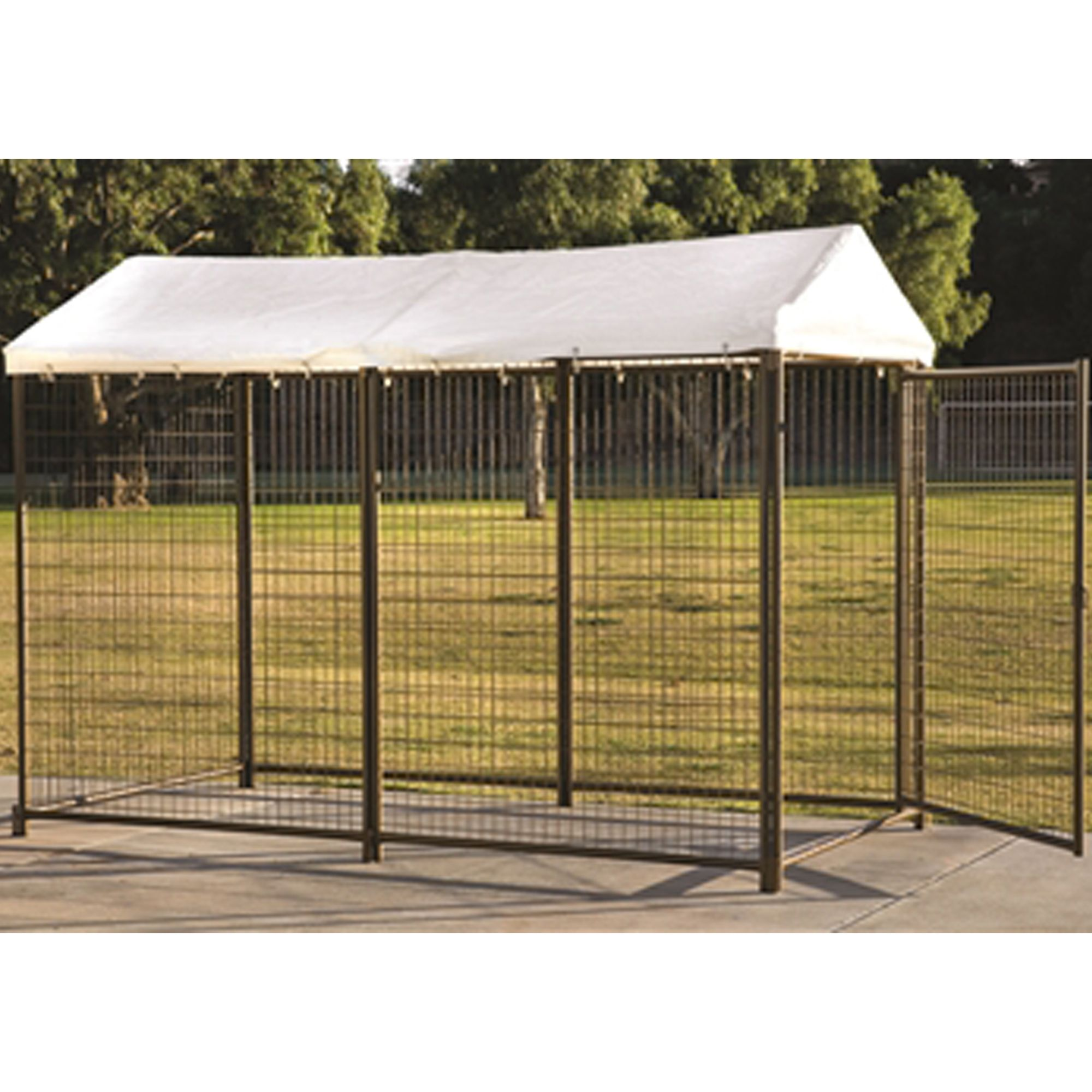 Advantek Waterproof Pet Kennel Cover Size 48l X 96w White