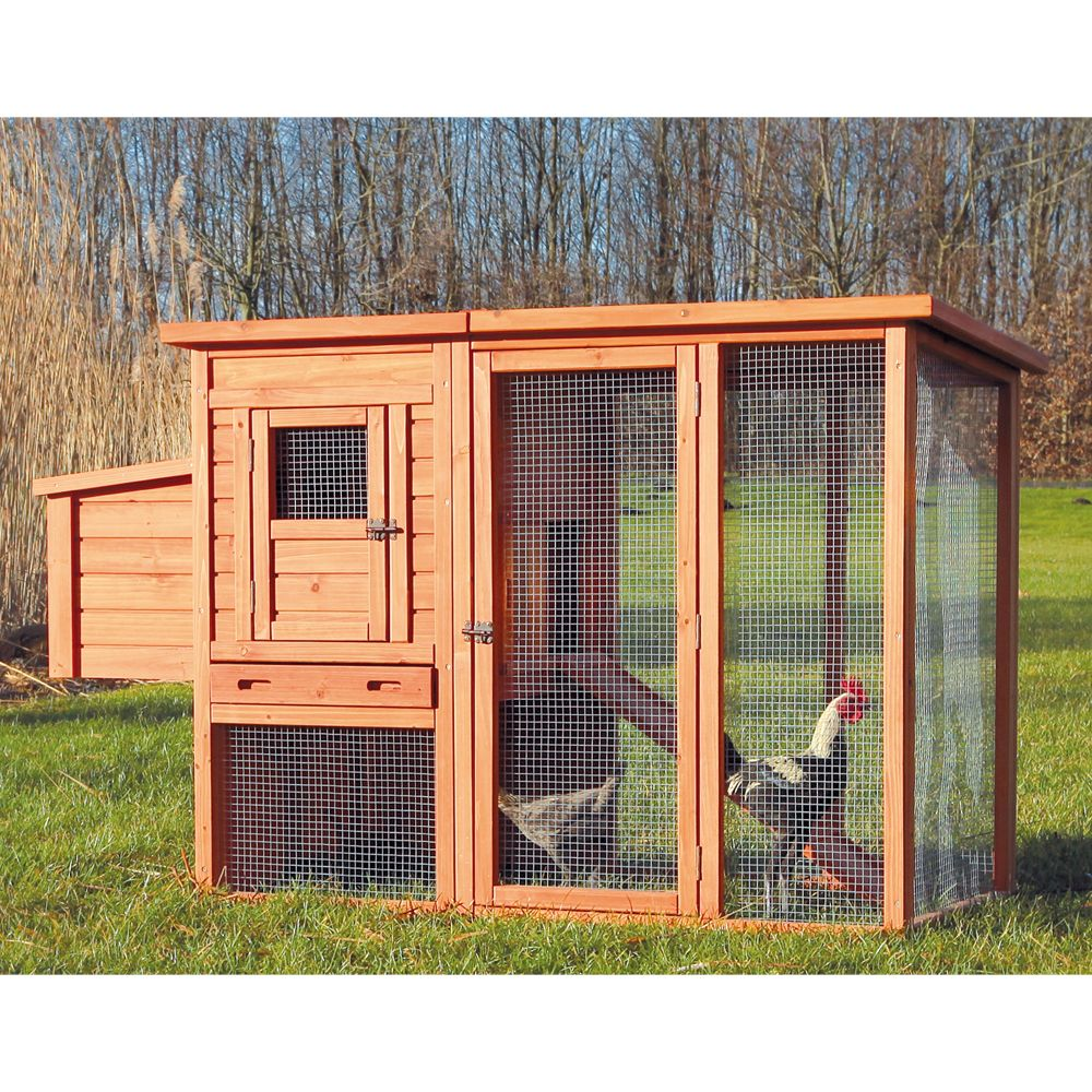 Trixie Chicken Coop And Outdoor Run