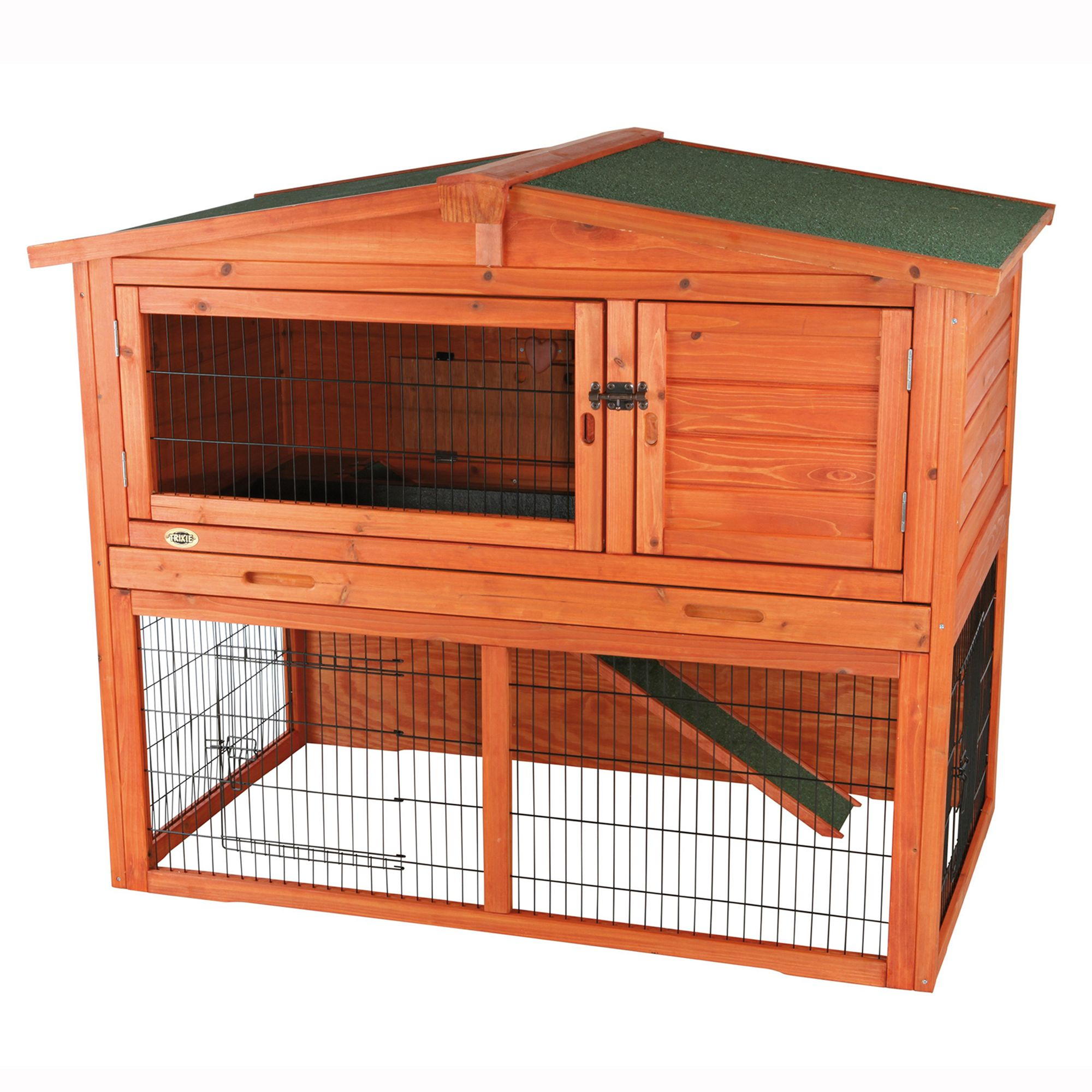 Trixie 2 Story Attic Rabbit Hutch Size Large