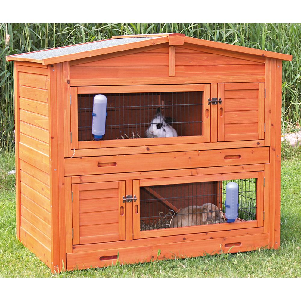Trixie Natura 2 Story Rabbit Hutch