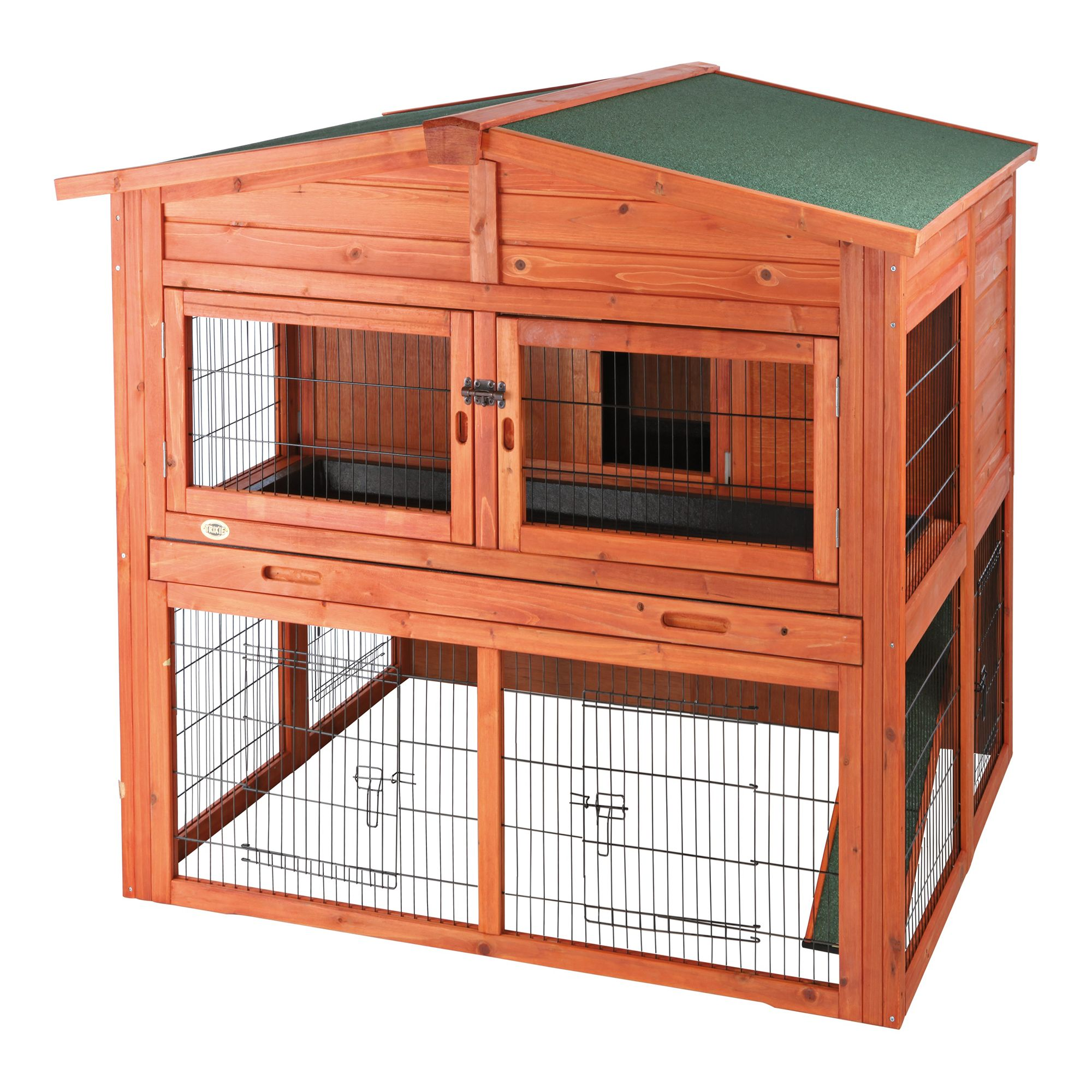 Trixie 2 Story Attic Rabbit Hutch Size X Large