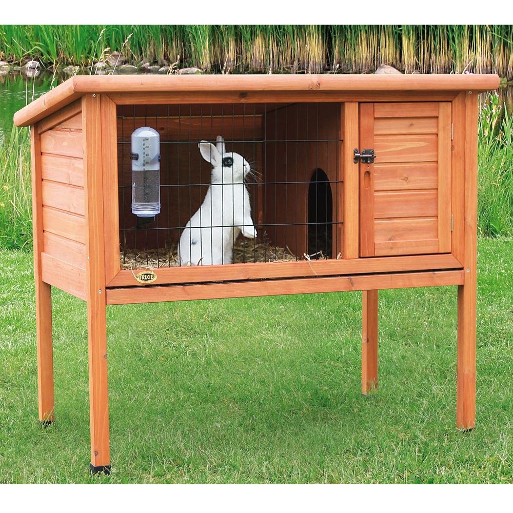 Trixie 1 Story Rabbit Hutch Size Large