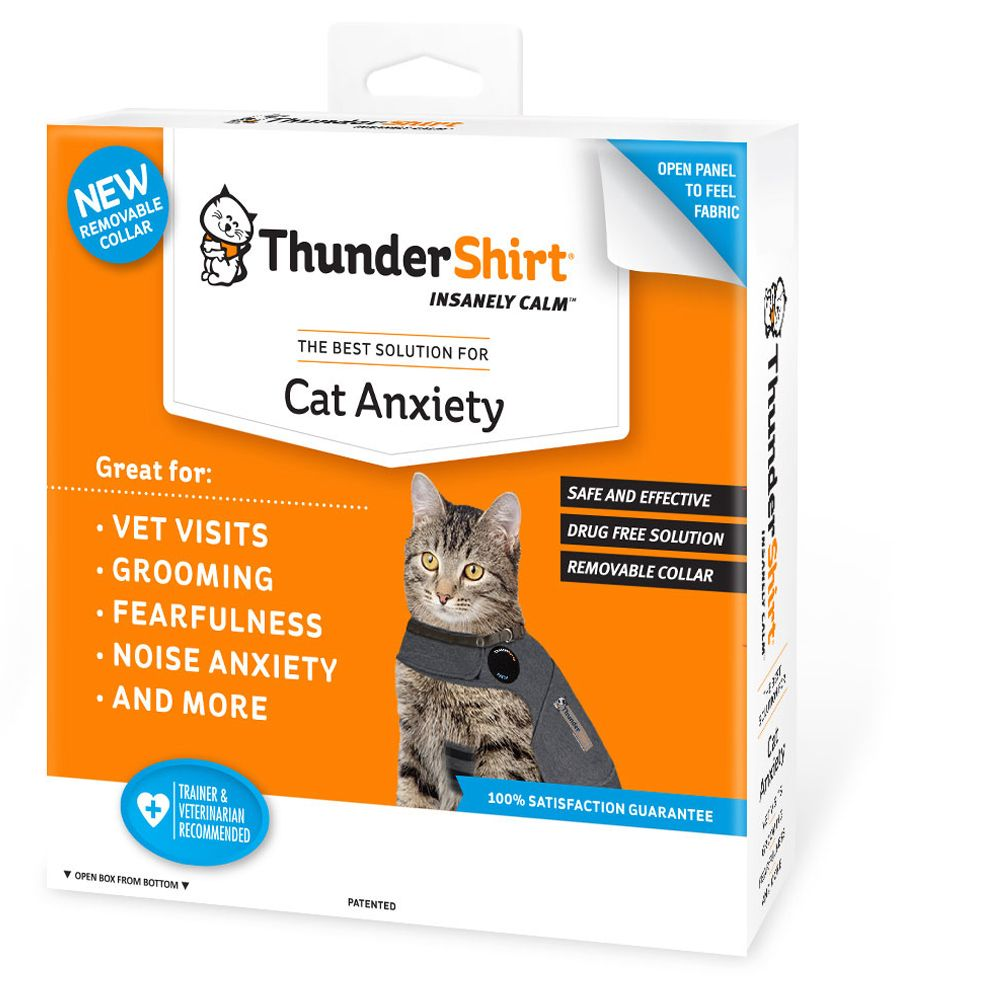 Thundershirt Cat Anxiety Shirt Size Medium