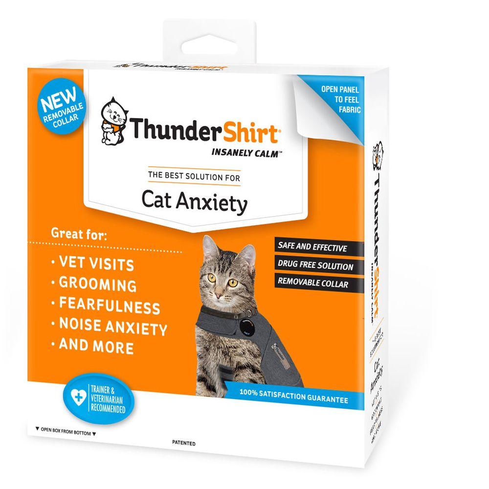 Thundershirt Cat Anxiety Shirt Size Large