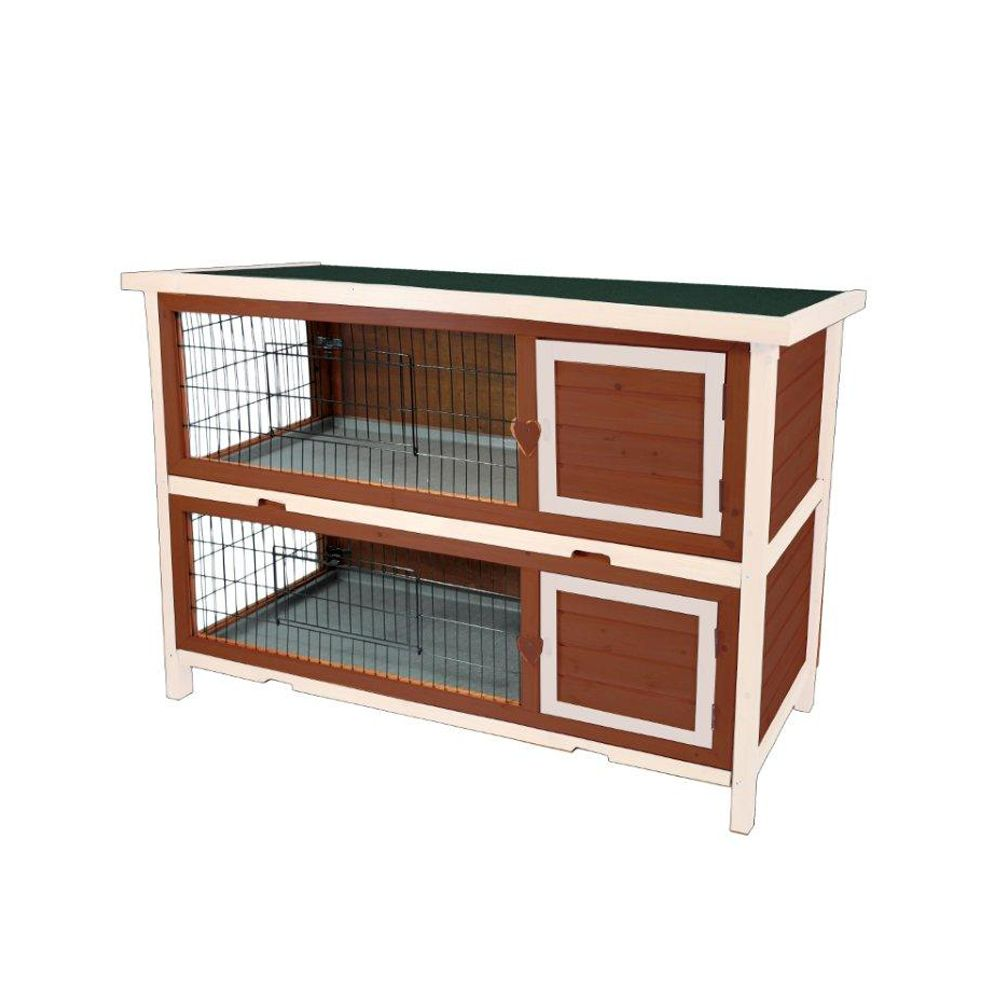 Advantek The Duplex Rabbit Hutch Auburn
