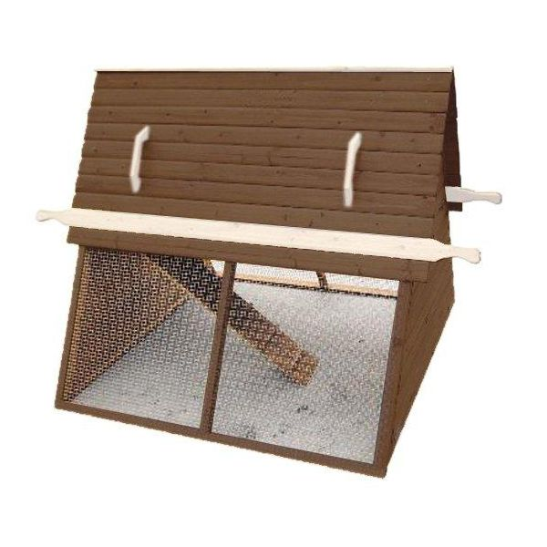 Advantek The Chalet Poultry Hutch Auburn