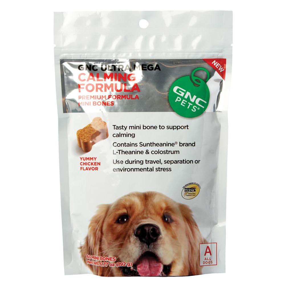 Gnc Pets Ultra Mega Calming Formula Dog Chewable Size 90 Count