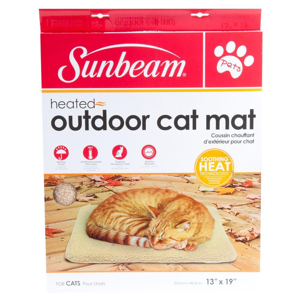 Sunbeam Heated Outdoor Cat Mat