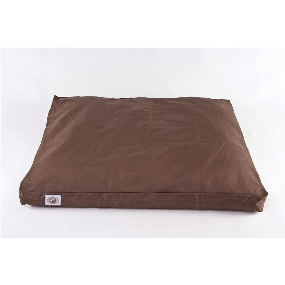Carolina Pet Brutus Tough Personalized Pet Bed Size 44l X 29w X 4h Silver Grey