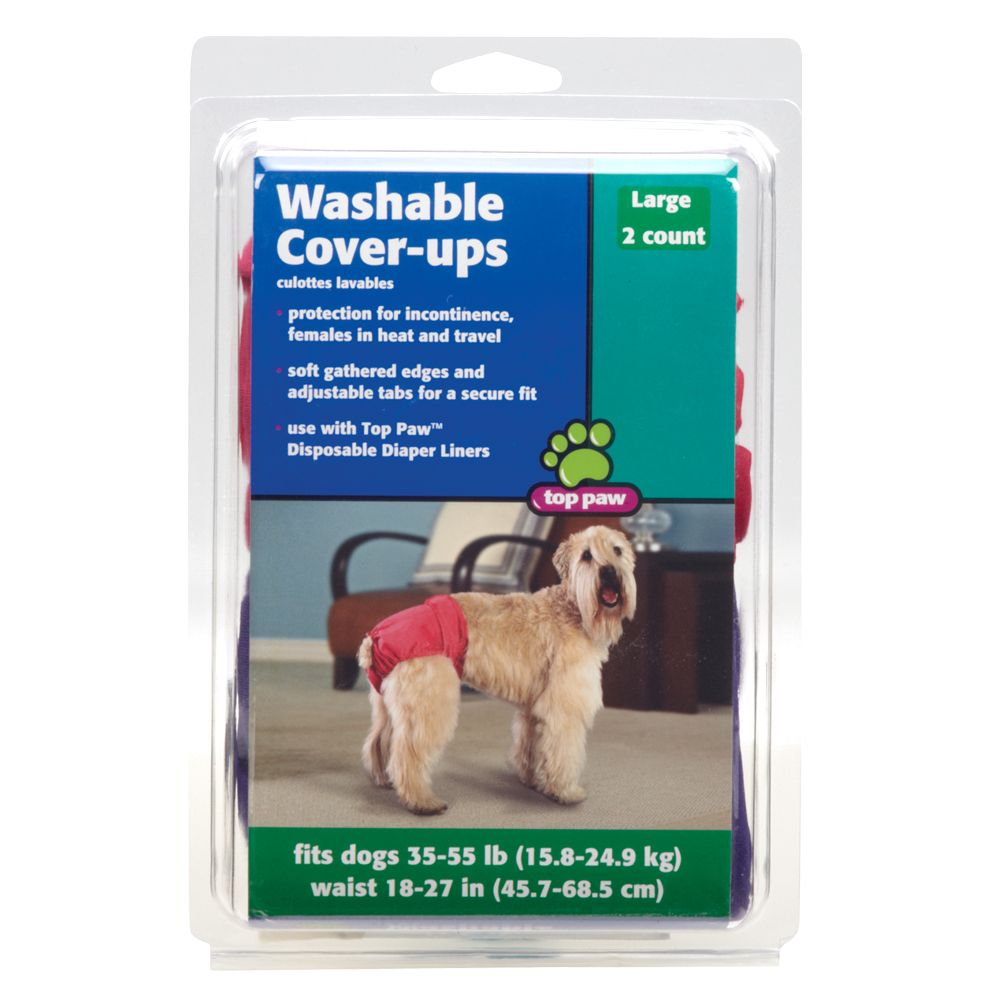 Top Paw Washable Cover-Ups size: Large