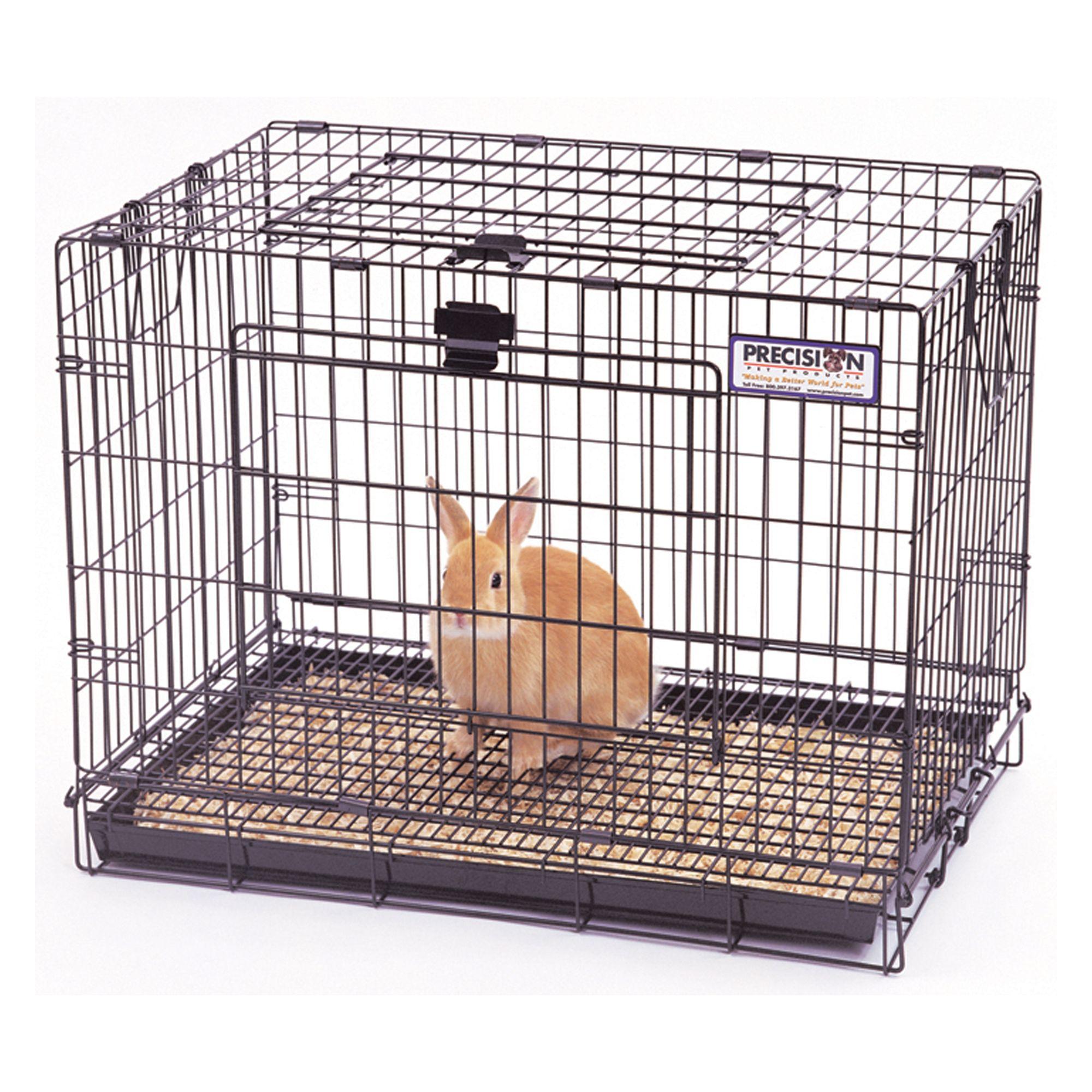 Precision Pet Small Animal Cage Size Small Black