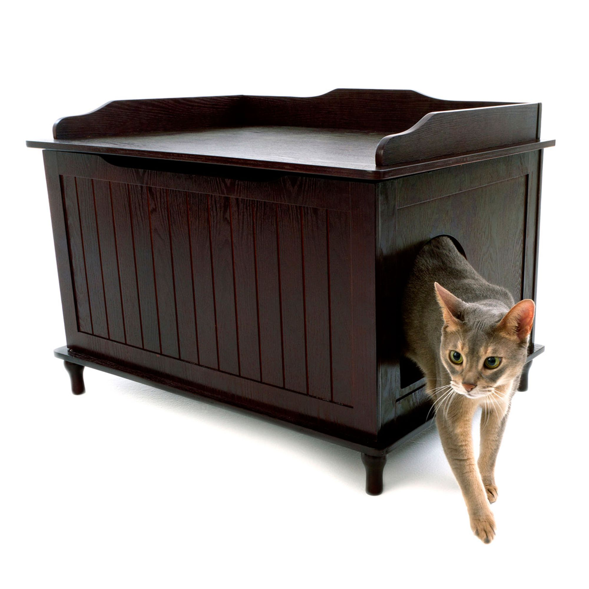 Designer Pet Products Designer Cat Litter Box Size 29.1l X 20.6w X 20.8h Brown
