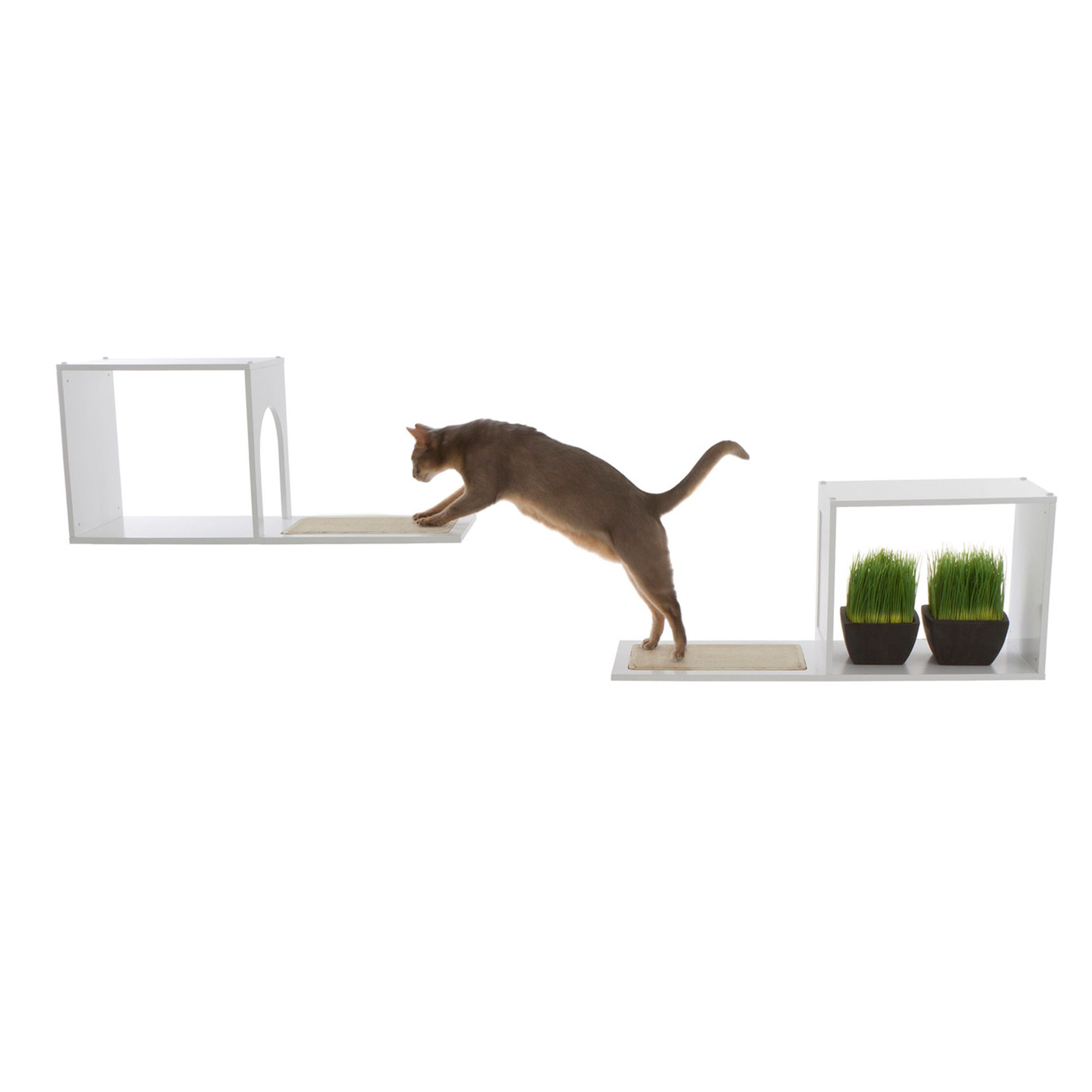 Designer Pet Products Sophia Cat Tree White