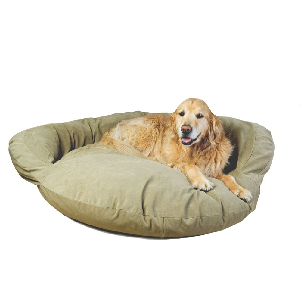 Carolina Pet Bolster Personalized Pet Bed Size 50l X 15w X 4h Green
