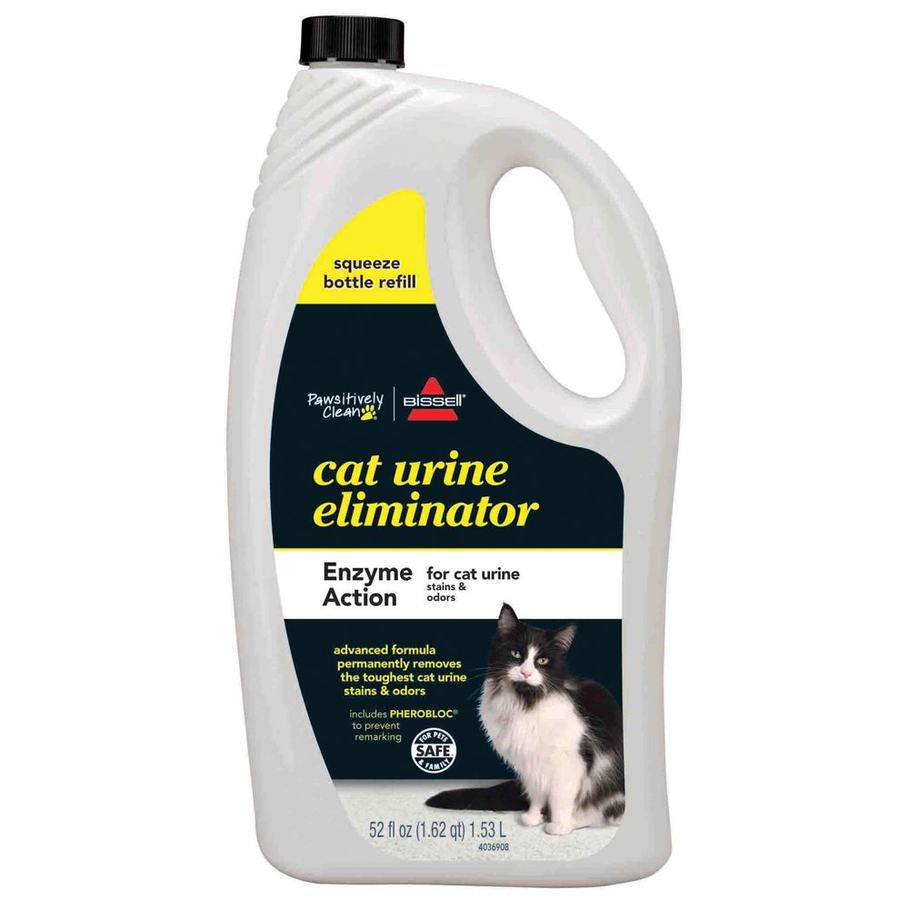 Bissell Pawsitively Clean Cat Urine Eliminator Refill Size 52 Fl Oz