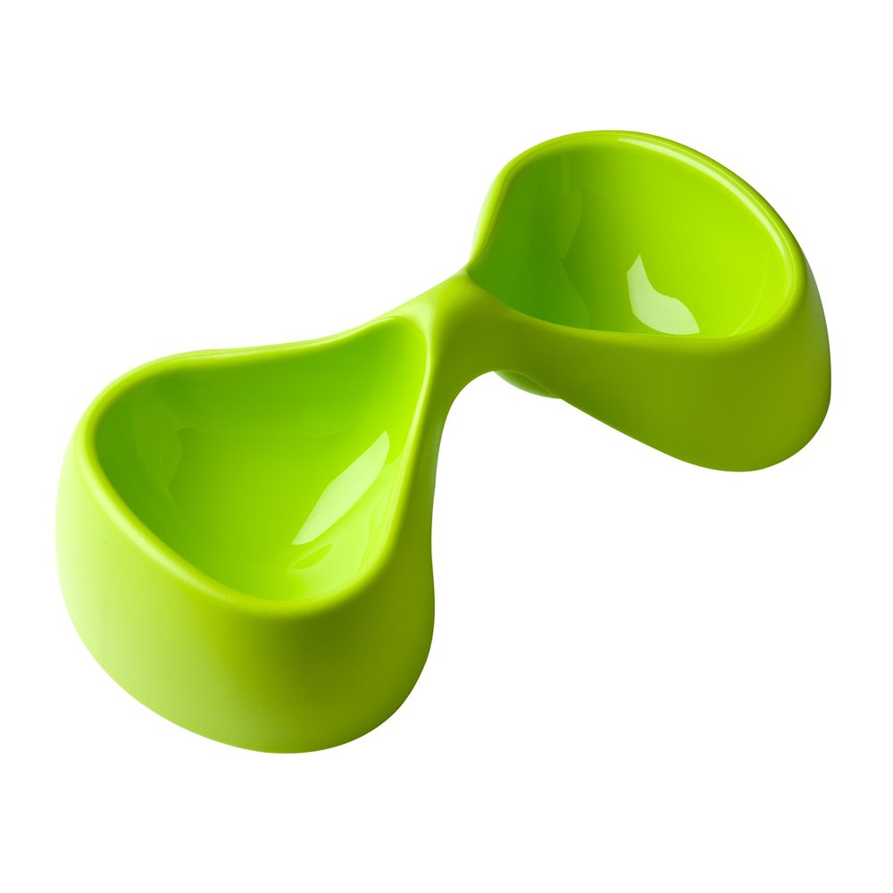 Petego Bicio Double Pet Bowl Pistachio Green